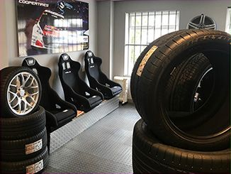 Wolfrace Wheels on display in Tyre-Smart Showroom Pic2