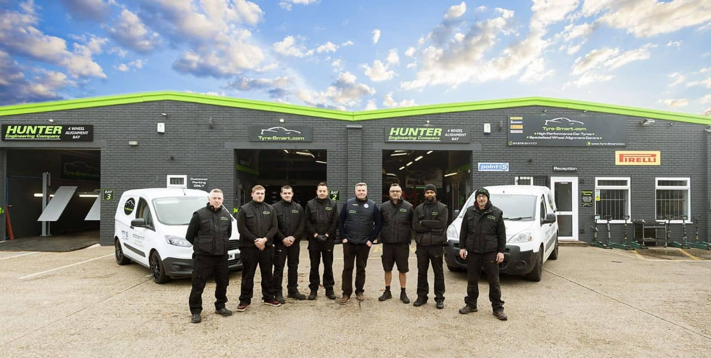 Tyre-Smart Essex Premise and Staff