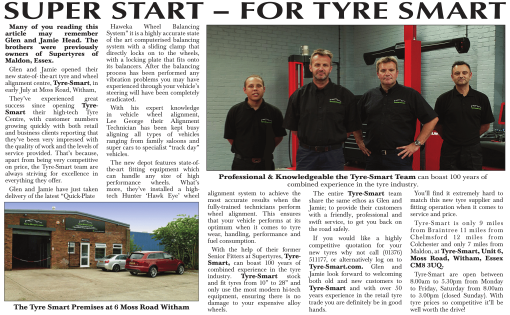 Super Start - for Tyre-Smart