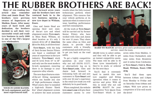The Rubber Brothers are Back!